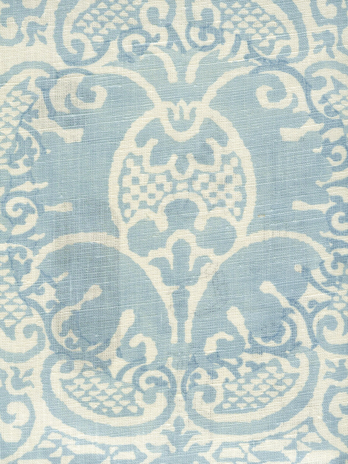 Quadrille Veneto Neutral Soft Windsor Blue on Tint