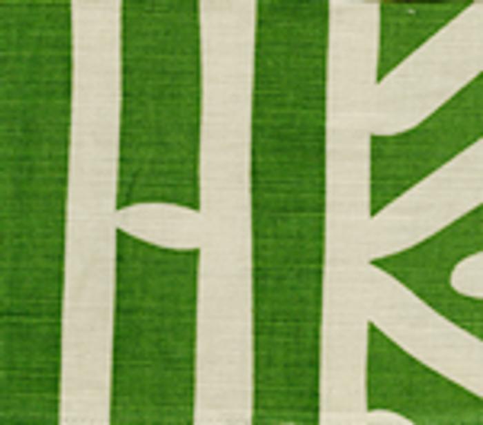 Quadrille Alan Campbell Candu Leaf on Tint