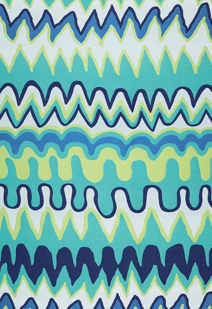 Trina Turk Zig Zag Weave Laguna Indoor/Outdoor - 2 Yard Minimum Order