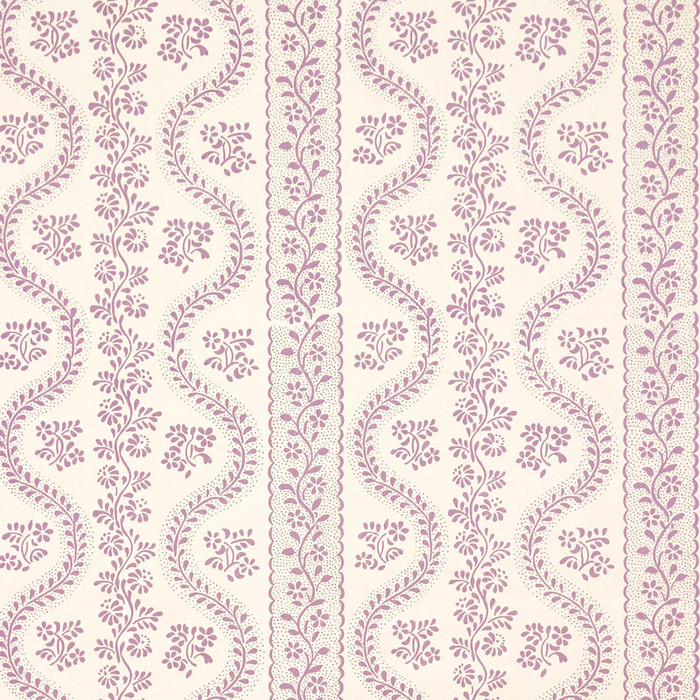 Sister Parish Dolly Parma/Purple - 3 Yard Minimum