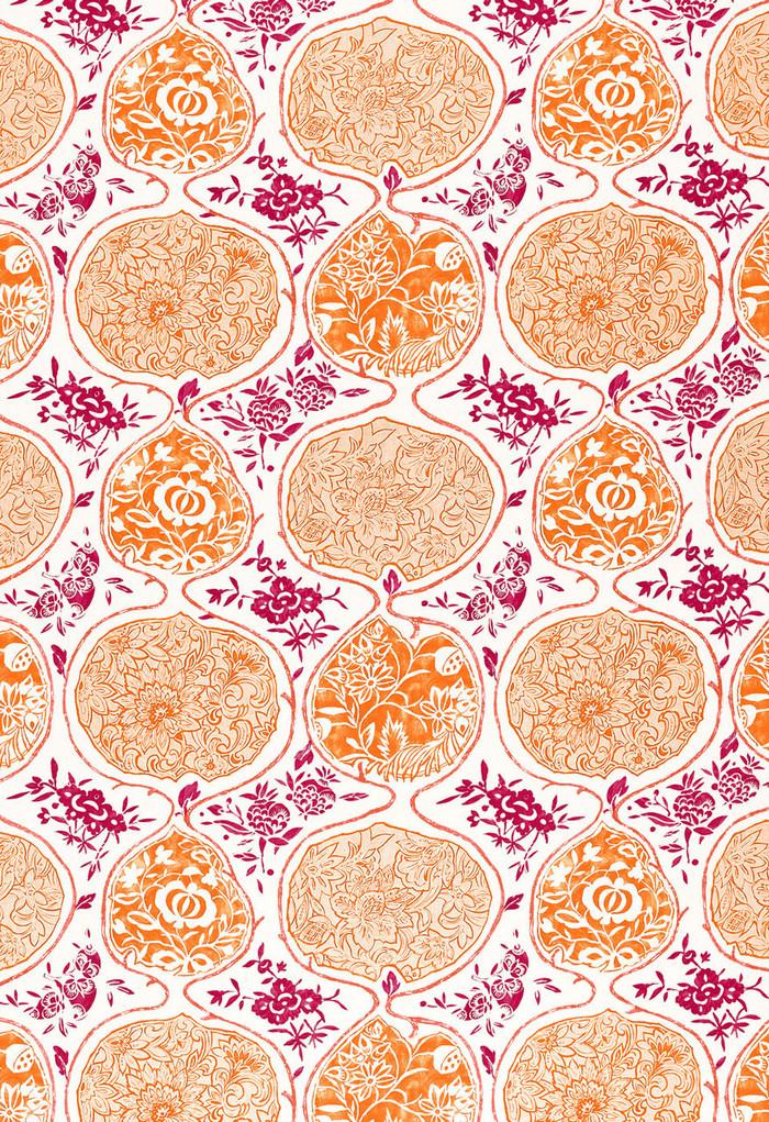 Schumacher Katsugi Tangerine & Berry 2620936