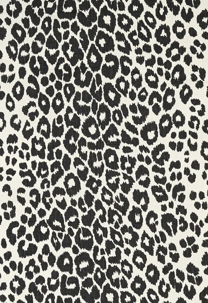 Schumacher Iconic Leopard Graphite