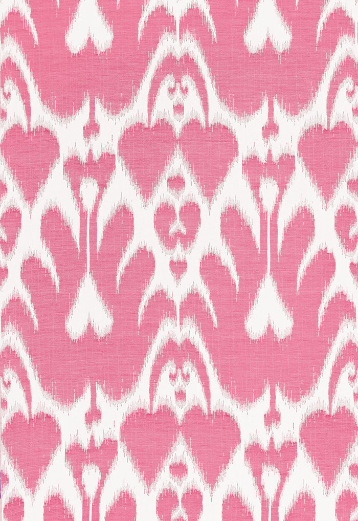 Lela Cotton Ikat Berry