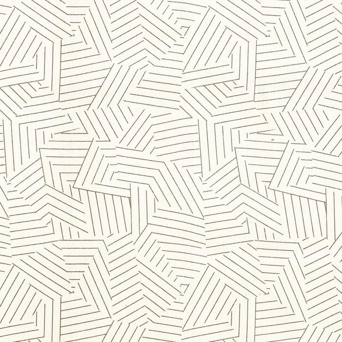 Deconstructed Stripe in Greige