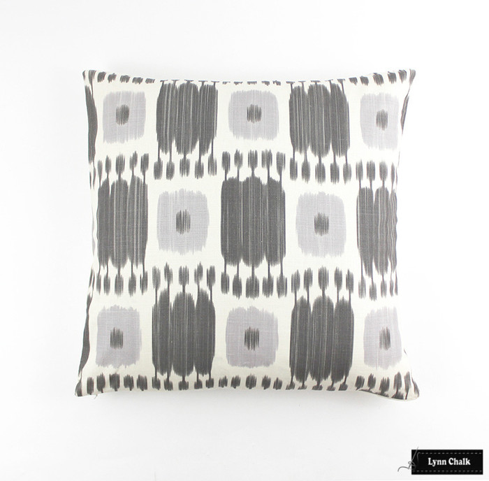 Pillow 24 X 24 in Kandira in Ash