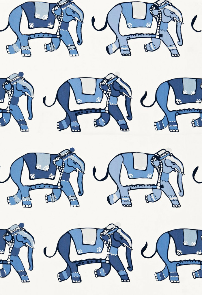 174892 Lulu DK Fabric Parade Blueberry Ocean