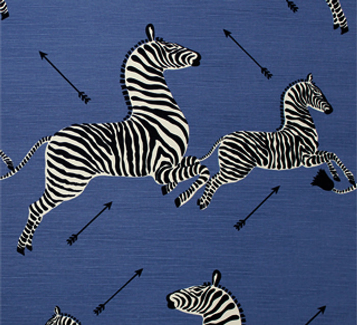 Scalamandre Zebras 36378-005 Denim