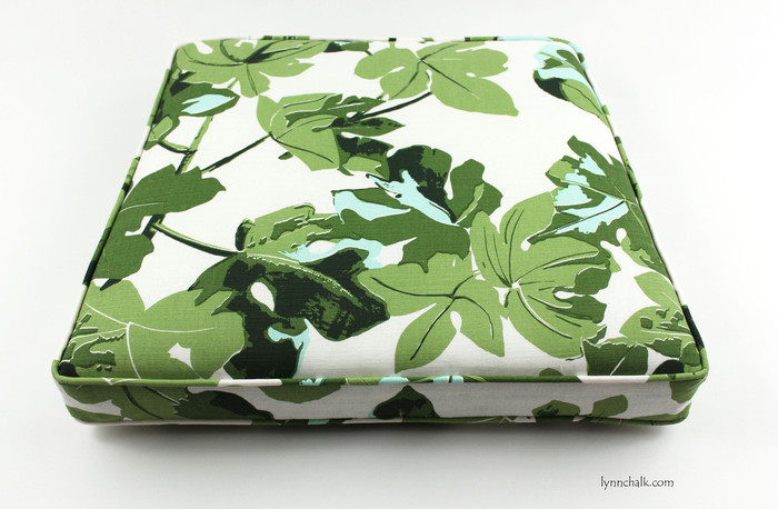 Seat Cushion in Fig Leaf