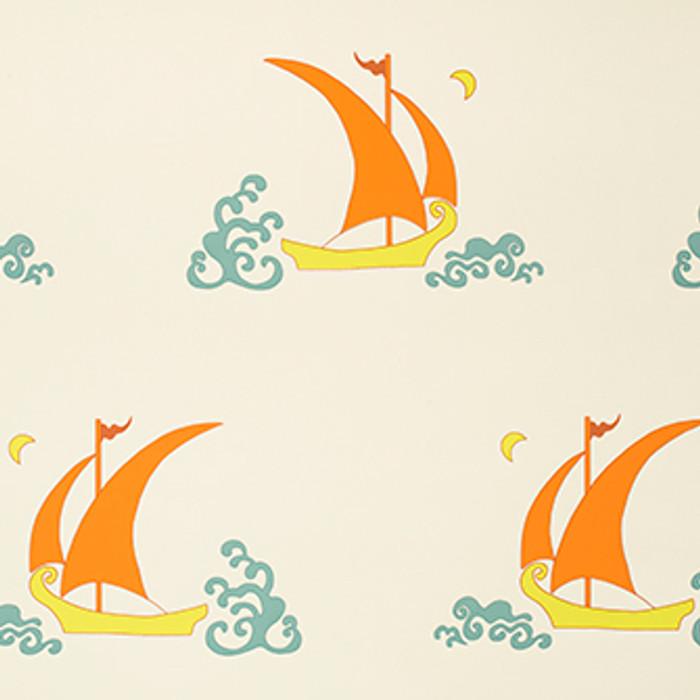 Katie Ridder Beetlecat Wallpaper in Cream