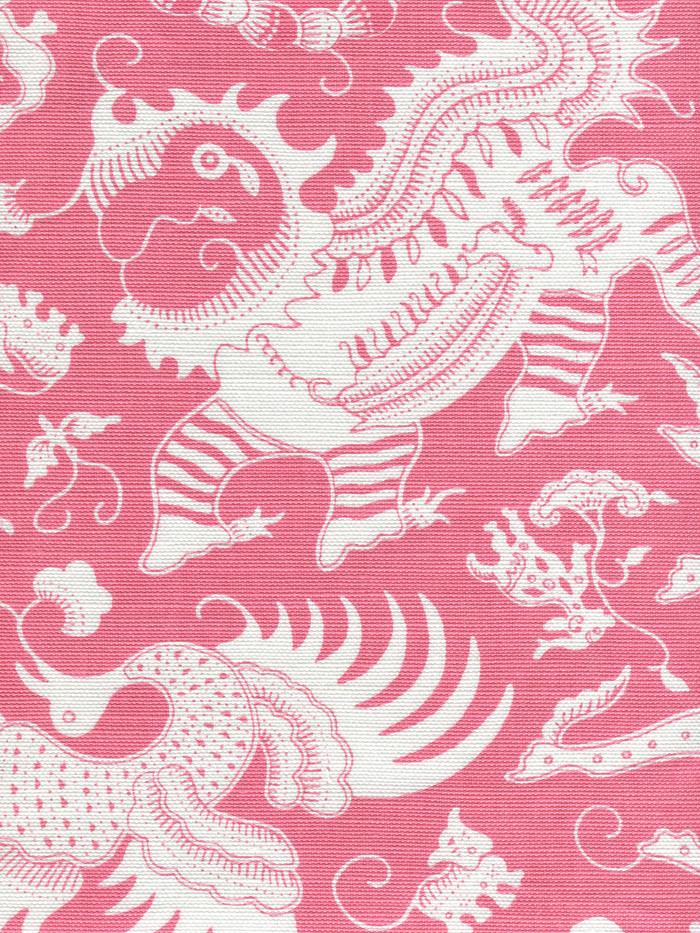 Indramayu Reverse Dark Pink on White 9010-05