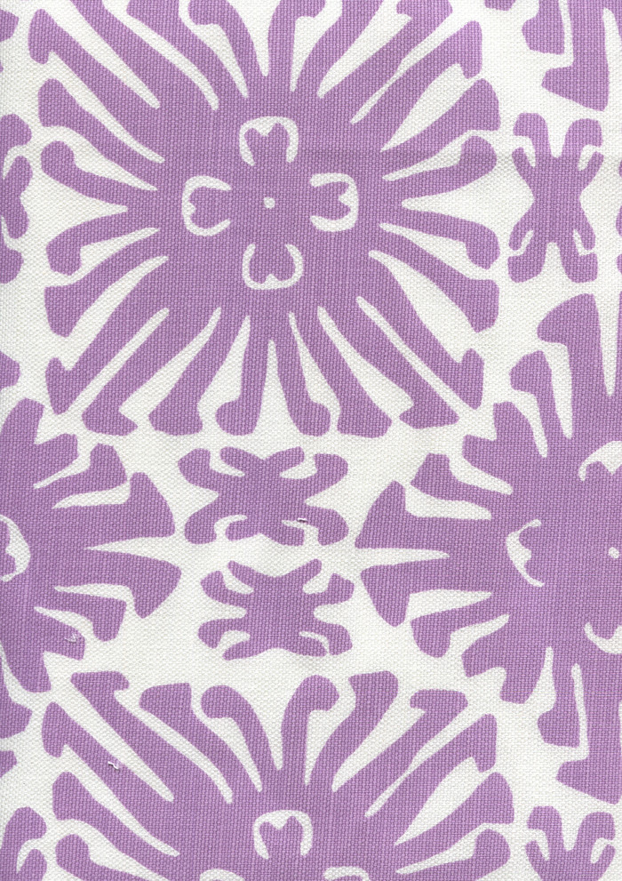 Sigourney Small Scale Lavender on white 2475 05