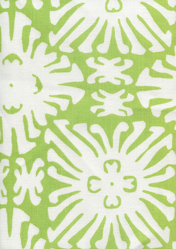 Sigourney Reverse Small Scale Jungle Green on white 2485 02