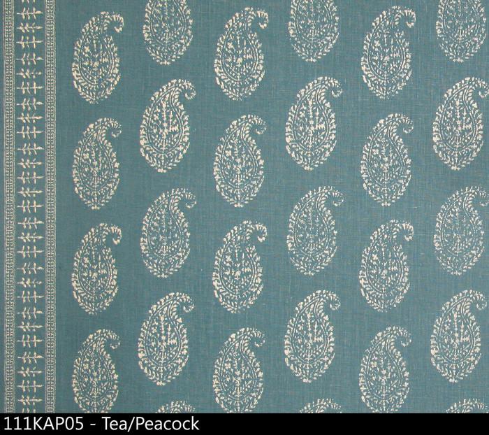 Peter Dunham Kashmir Paisley Tea Peacock 111KAP05