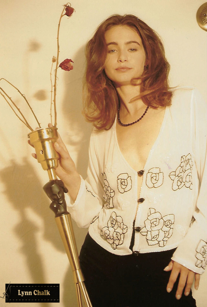 White Silk Chiffon Top with Light Pink Hand Beaded Roses by Lynn Chalk