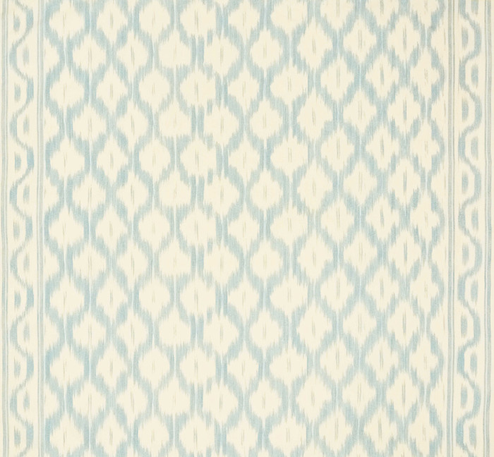 Schumacher Santa Monica Ikat China Blue 176501