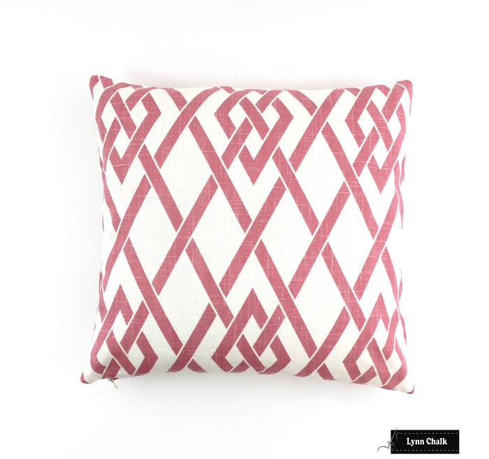 ON SALE Robert Allen Morgan Marie Blossom Pink Pillows  (Both Sides - 18 X 18)