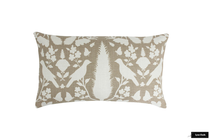 ON SALE 50% Off-Schumacher Chenonceau Pillow 14 X 24 in Fawn (Both Sides)