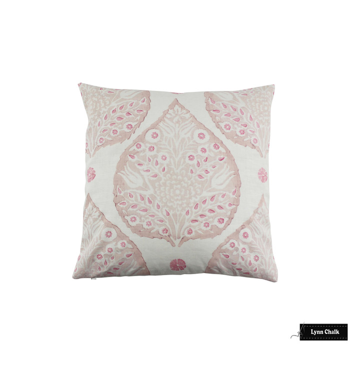 Lotus Pillows in Custom Colors (Rose Quartz inside lotus, Blossom outside Lotus, Punch small petals)