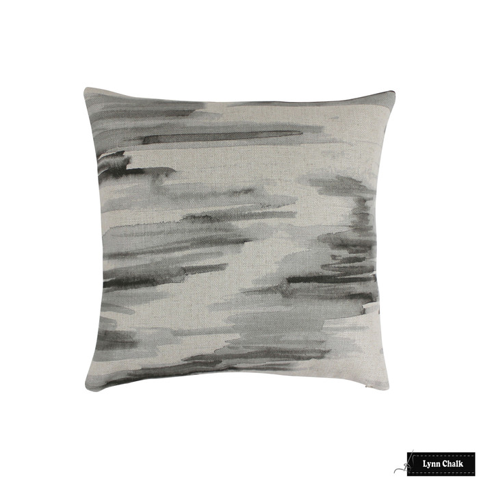 Barbara Barry Lee Jofa Awash Cinder Pillows (20 X 20)