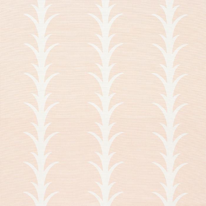Schumacher Fabric Acanthus Stripe Blush 177634