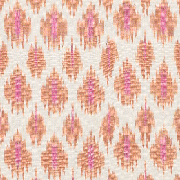 Schumacher Presidio Ikat in Orange 178061