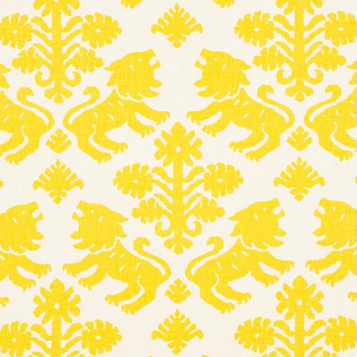 Schumacher Regalia in Yellow 177301