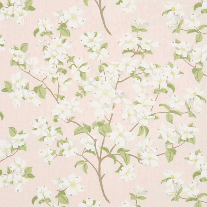 Schumacher Blooming Branch in Blush 177410