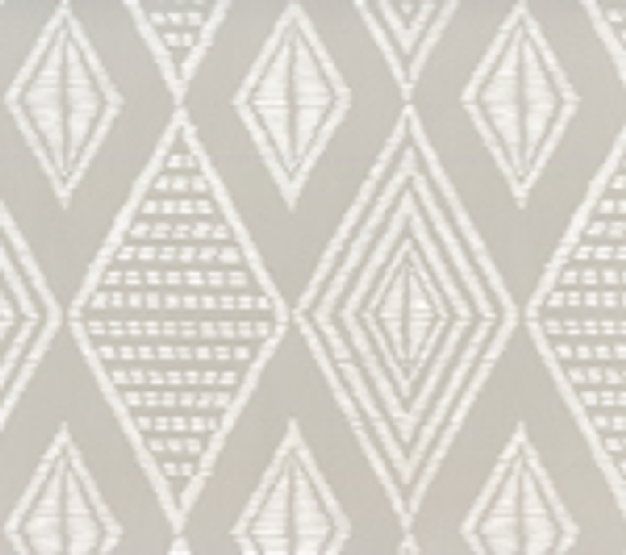 Quadrille Wallpaper Safari Pale Grey on White AP855-PGREY