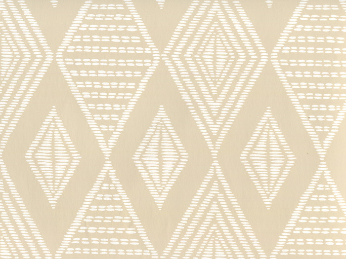 Quadrille Wallpaper Safari Beige on White AP855-BEIGE