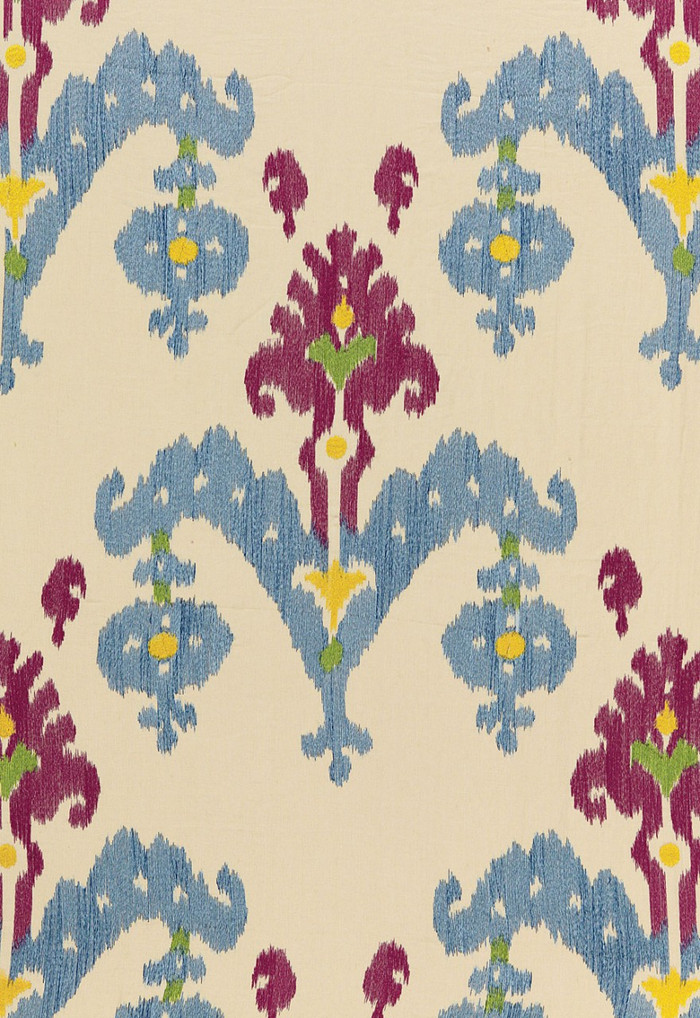 Schumacher Martyn Lawrence Bullard Raja Embroidery in Jewel 65812