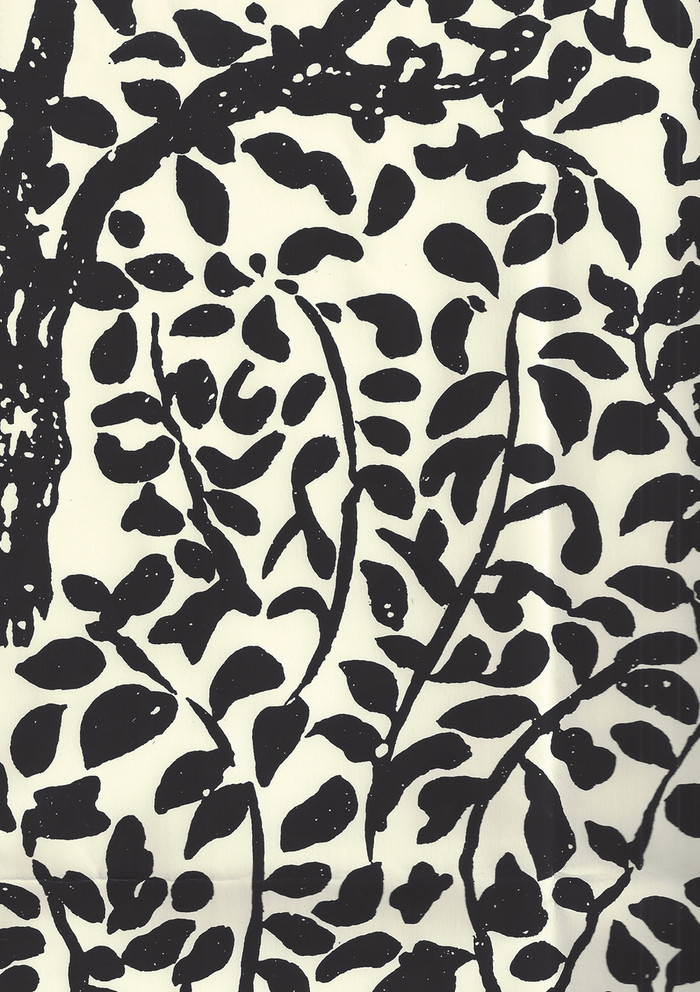 Quadrille Wallpaper Arbre de Matisse Black on Off White 2030-11WP