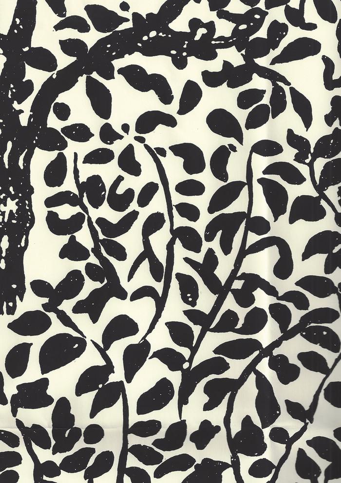 Quadrille Wallpaper Arbre de Matisse Black on Off White 2030-11WP