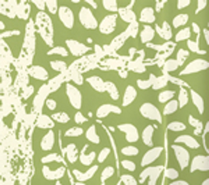 Quadrille Arbre de Matisse Reverse Wallpaper Jungle Green 2035-02WP