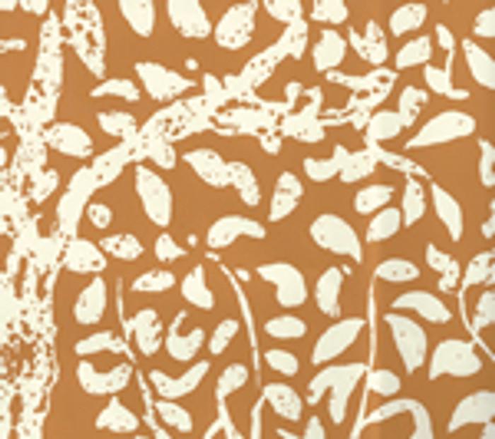 Quadrille Arbre de Matisse Reverse Wallpaper Terracotta 2035-16WP