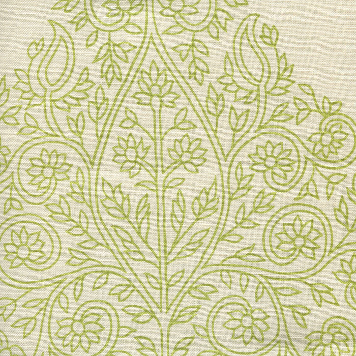 Quadrille Taj Wallpaper Fig on on Off White HC1480P-07WP