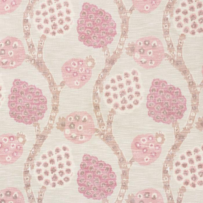Schumacher Annabel Warp Print Rose 177990