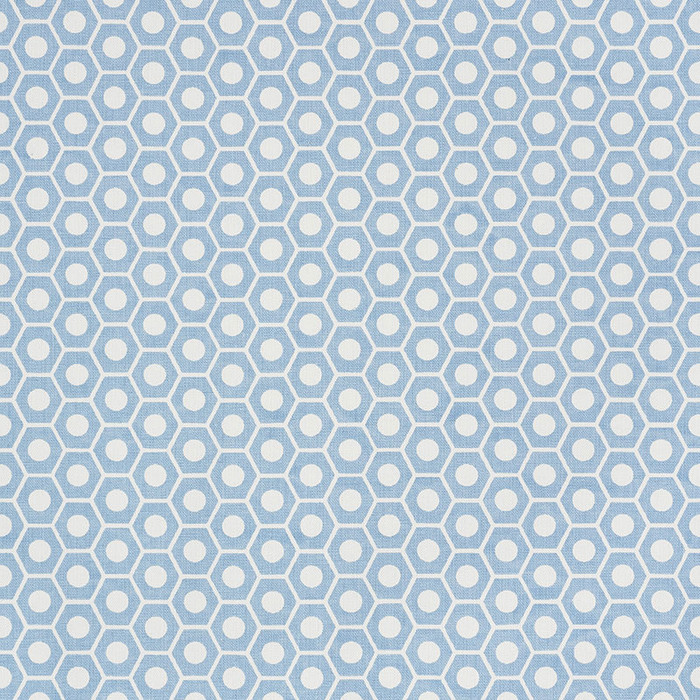 Schumacher Queen B Chambray 177071