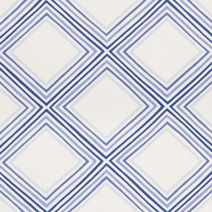 Schumacher Square Dance Blue 178271