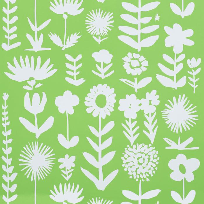 Schumacher Wallpaper Wild Things Leaf 5009811