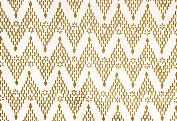 Sister Parish Kismet Fabric Gold SPLL-3900-25