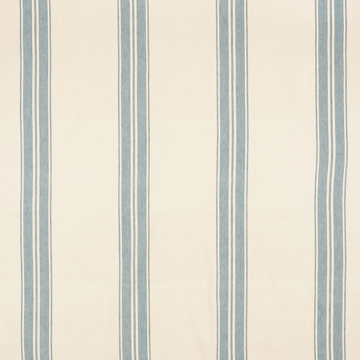 Schumacher Brentwood Stripe China Blue 70871