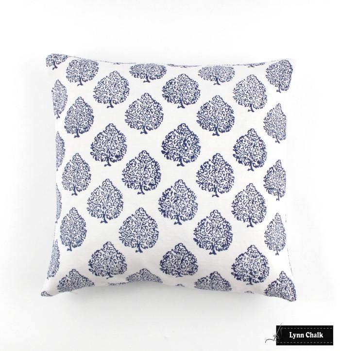 John Robshaw Mali Indigo Pillow