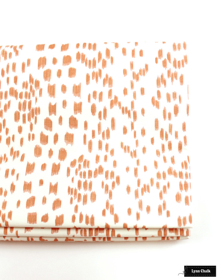 Roman Shade in Les Touches Tangerine 8012138.12