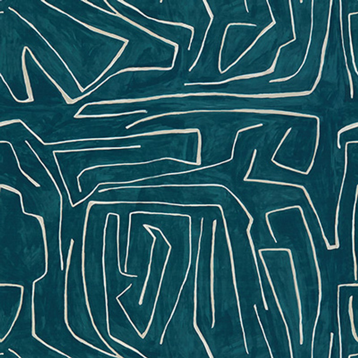Fabric Graffito Teal/Pearl GWF-3530_53