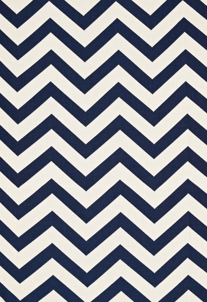 Antibes Chevron Navy 65920