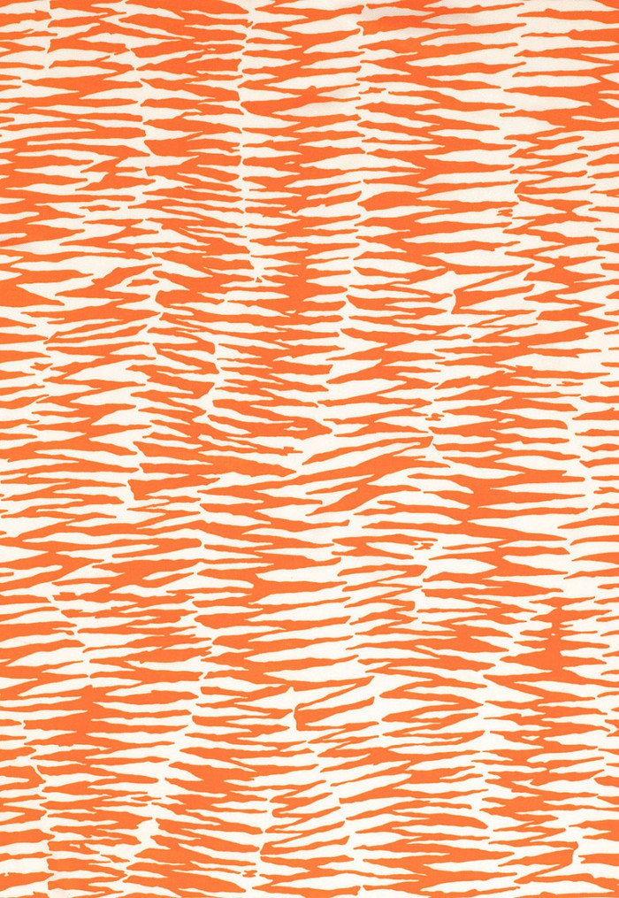Trina Turk Zebra Print in Orange