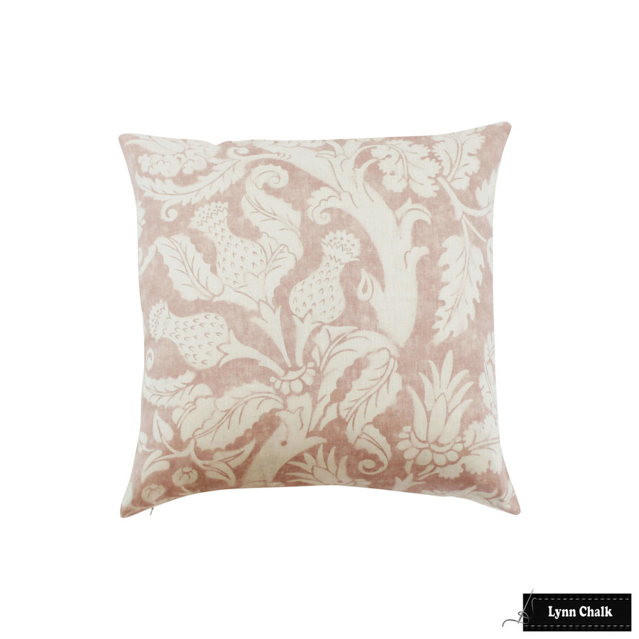 Pillow in Villa De Medici in Blush Conch (24 X 24)