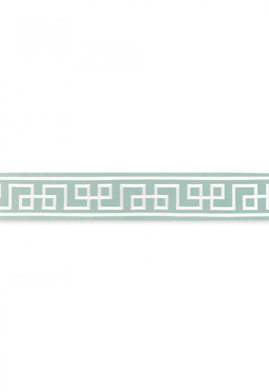 Schumacher Mary McDonald Octavius Tape Aquamarine  66161