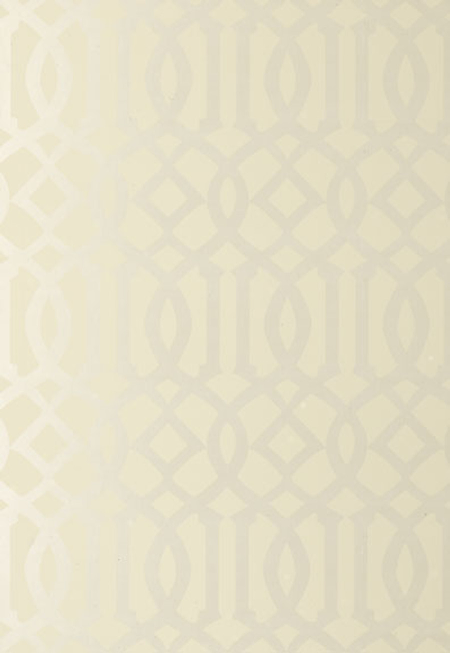 Schumacher Imperial Trellis Alabaster Wallpaper 2707211