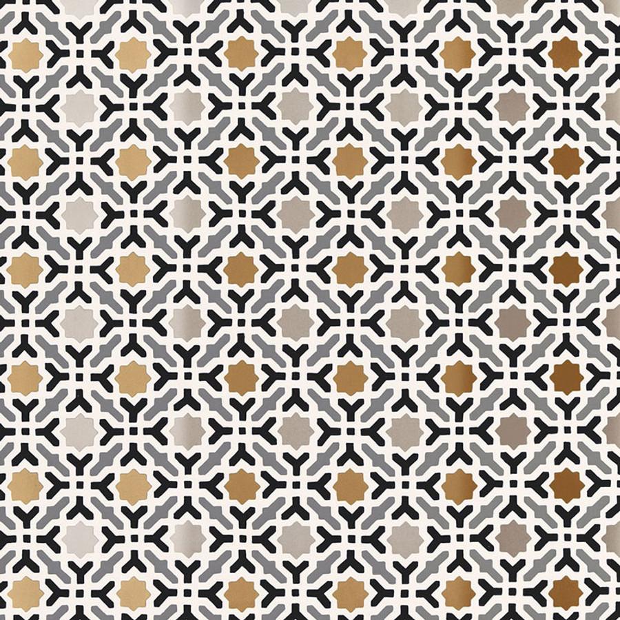 Schumacher Serallo Mosaic Wallpaper Mica 5005971